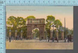 Dublin   - Memorial Arch, St.Stephen's Green,  - ED: Franco Portrait Studio - Iceland