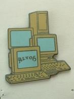PIN'S ALTOS - ORDINATEURS - Computers