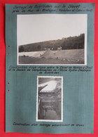 53 Barrage De Guerlédan Sur Le Blavet 1936 Construction St Aignan 2 Photos éditeur Entreprise Industrielle Paris - Places