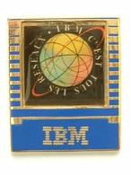 PIN'S IBM C'EST TOUS LES RESEAUX - Computers