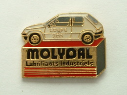 PIN'S COUPE 205 PEUGEOT - MOLYDAL - Peugeot