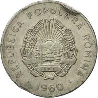Monnaie, Roumanie, 25 Bani, 1960, B+, Nickel Clad Steel, KM:88 - Roumanie