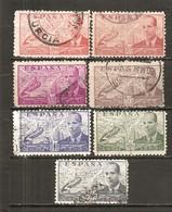 España/Spain-(usado) - Edifil  880-86 - Yvert  Aéreo 195-01 (o) - Airmail