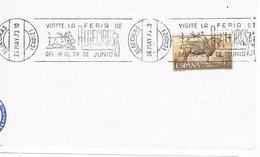 Spanien Maschinenstempel Algeciras - Feria, Stier - 1931-Heute: 2. Rep. - ... Juan Carlos I