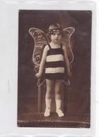 NIÑA FILLE LITTLE GIRL DISFRAZADA CUSTOM DISGUISE BEE VINTAGE. CIRCA 1910's- BLEUP - Autres