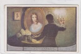 SCHUBERT. ILLUSTRATION FEMME PEINTUIRE ET ROSES  VINTAGE CIRCA 1910's- BLEUP - Zangers En Musicus