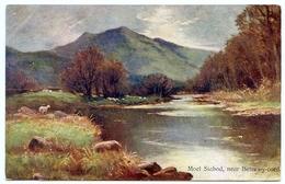 ARTIST : UNSIGNED - MOEL SIABOD, NEAR BETTWS-Y-COED - 1900-1949