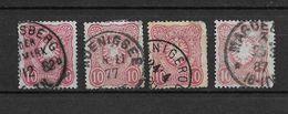 LOTE 1729  ///  ALEMANIA IMPERIO   YVERT Nº: 38   VARIEDADES DE COLOR - Alemania
