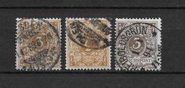 LOTE 1729  ////  ALEMANIA IMPERIO 1875-77   YVERT Nº: 45 CON VARIEDADES DE COLOR - Alemania