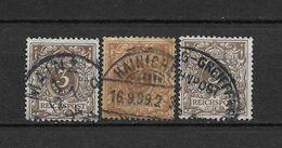 LOTE 1729  ////  ALEMANIA IMPERIO 1889   YVERT Nº: 45 CON VARIEDADES DE COLOR - Alemania