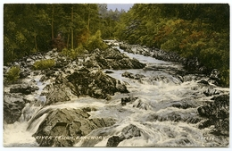 BANCHORY : RIVER FEUGH - Aberdeenshire