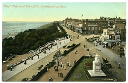 SOUTHEND ON SEA : WEST CLIFF AND PIER HILL - Southend, Westcliff & Leigh