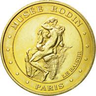 France, Jeton, Jeton Touristique, Paris - Musée Rodin - Le Baiser, 2005, MDP - France