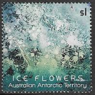Australian Antarctic Territory 2016 Ice Flowers $1 Sheet Stamp Type 1 Good/fine Used [38/31194/ND] - Australian Antarctic Territory (AAT)