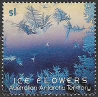 Australian Antarctic Territory 2016 Ice Flowers $1 Sheet Stamp Type 2 Good/fine Used [38/31195/ND] - Australian Antarctic Territory (AAT)