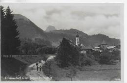 AK 0004  Oberaudorf Am Inn Gegen Brünnstein - Verlag Feldbauer Um 1920-30 - Rosenheim
