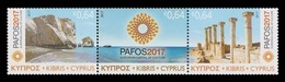 Cyprus 2017 Mih. 1370/72 Pafos - European Capital Of Culture 2017 MNH ** - Neufs