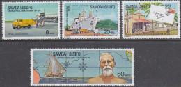 SAMOA, 1974 UPU 4 MNH - Samoa