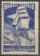 LSJP BRAZIL SCHOOL SHIP ALMIRANTE SALDANHA 1953 - Brazil