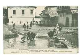 ALBANIE - Fontaine De Pogradie - Femmes Albanaises Lavant Leur Linge - Albania
