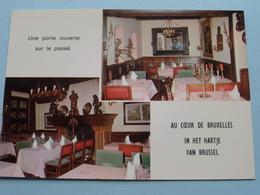 AU BON VIEUX TEMPS Rue Marché Aux Herbes / Impasse Saint-Nicolas ( AVA ) Anno 19?? ( Voir Photo ) ! - Cafés, Hôtels, Restaurants