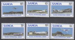 SAMOA, 1988 FALEOLO AIRPORT 6 MNH - Samoa