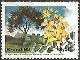 LSJP BRAZIL BOTANICAL SOCIETY PAU BRASIL 1990 - Brésil
