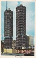 ETATS-UNIS---CHICAGO---marina City--the Complete City Within A City--voir 2 Scans - Chicago