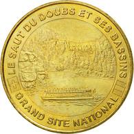 France, Jeton, Jeton Touristique, Villers-le-Lac - Le Saut Du Doubs N°2, 2006 - Francia