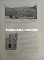 1900 ARAGON ET VALENCE Par Jane DIEULAFOY - TARRAGONE - LA CATHEDRALE - PORTE DU ROSAIRE - Libros, Revistas, Cómics