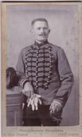 Photographie Sur Carton - Soldat 8ème Régiment De Chasseurs à Cheval à Auxonne - Photographie Principale à Auxonne (21) - Guerre, Militaire
