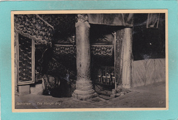 Old Postcard Of The Manger,Bethlehem,West Bank, Palestine,,S50. - Palestine