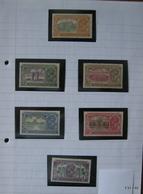 India1931. King George V. INAGURATION OF NEW DELHI. Completer Set. SG 226-231. Scott 129-134. MH - India (...-1947)