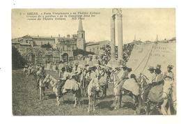 13 ARLES GARDIANS ARLESIENNES THEATRE ANTIQUE FESTO VIERGINENCO  CAMARGUE BOUCHES DU RHONE - Arles