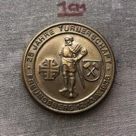 """Badge Pin ZN007012 - Gymnastics Austria Freundsberg """"25 Jahre Turnerschaft"""" 1936 - Gymnastics"""