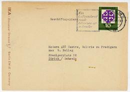Nr. 314 EF Auslands Drucksache In Die Schweiz - BRD