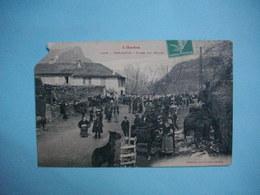 TARASCON  -  09  -  Foire Aux Mules  -  ARIEGE  -  ( Coin Coupé  ) - Francia