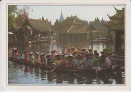 Thailand Siam Circulated Postcard - Thailand