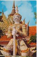 Thailand Temple Of Dawn Bangkok Uncirculated Postcard - Thailand