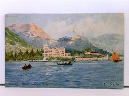 Künstler-AK Gardasee, Isola Lecchi (Isola Lechi), Isola Del Garda; Coloriert - Italy