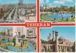 Iran Teheran Circulated Postcard - Iran
