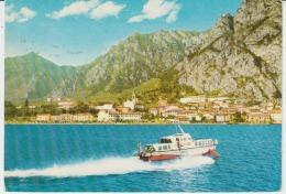 Iran Teheran Speedboat Motor Boat Launch Circulated Postcard - Iran