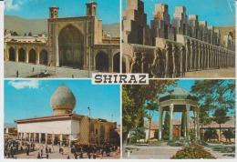 Iran Shiraz Circulated Postcard - Iran