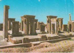 Iran Persepolis Takht E Jamshid Circulated Postcard - Iran
