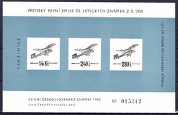Tchécoslovaquie 1920 Mi 192-3 (Yv PA 1-3), (MNH) - Airmail
