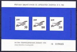 Tchécoslovaquie 1923 Mi 199-201 (Yv PA 4-6), (MNH) - Airmail