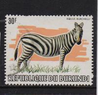 Burundi 1982, Zebra, Minr 1589, Vfu. Cv 40 Euro - Burundi