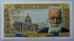 5 Nouveaux Francs Victor Hugo   6.5.1964 - 5 NF 1959-1965 ''Victor Hugo''