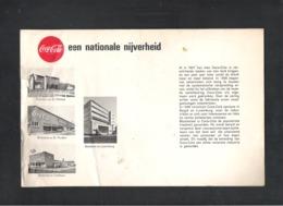 "COCA - COLA - RECLAME FOLDER ""GEZINSFLES""  1961  (0D 391) - Advertising Posters"