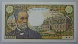 5 Francs Pasteur  5.5.1966 - 5 F 1966-1970 ''Pasteur''